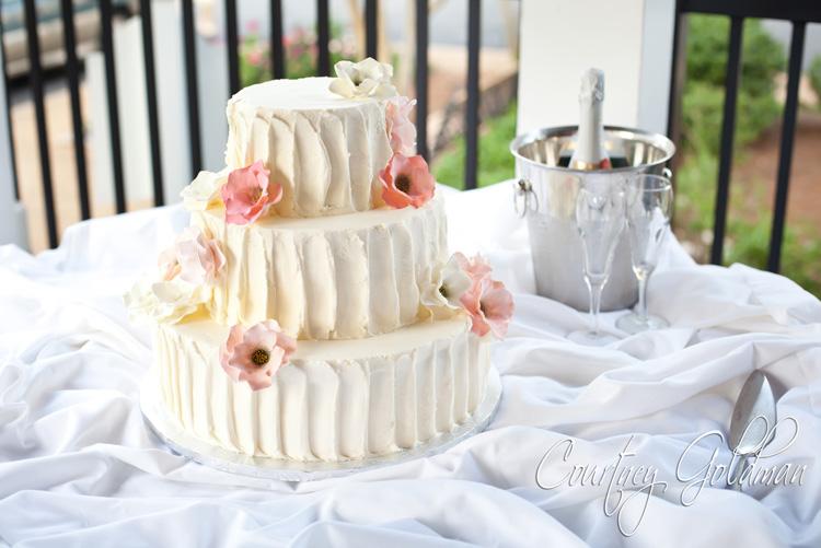 colored wedding cakes Foundry Park Inn Weddingss Blog